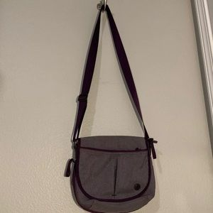 Lululemon Purple Crossbody Bag